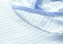 Details Poncho blauw